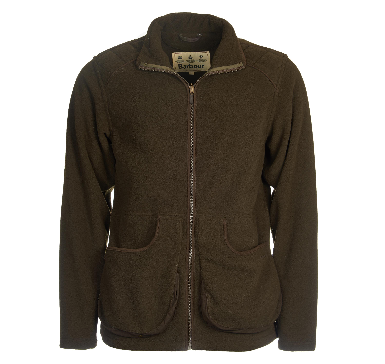 barbour fleece jacket