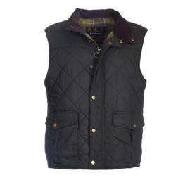 Barbour Boxley Quilted Wax Gilet