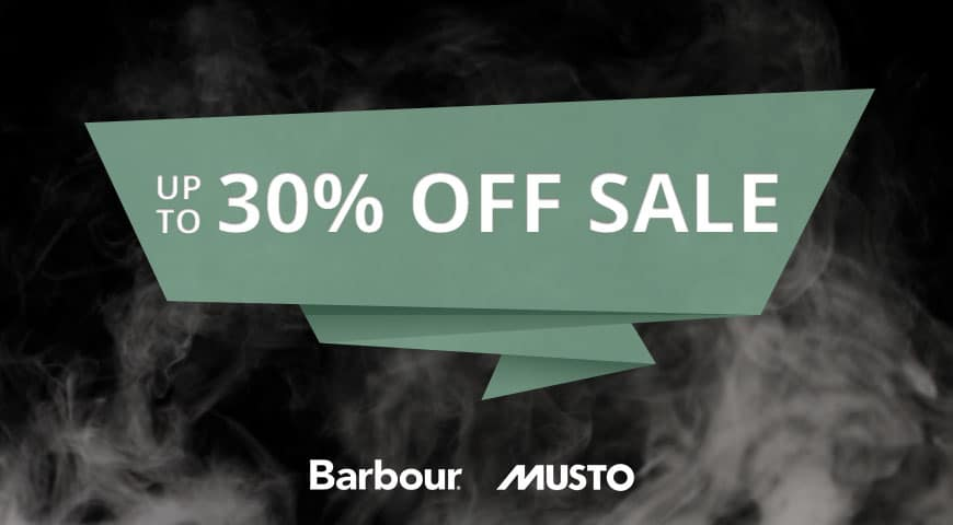 Christmas 30% Barbour and Musto
