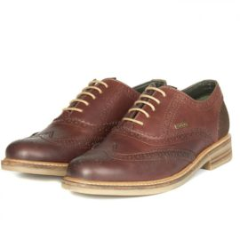 Barbour Redcar Oxford Brogue Shoes