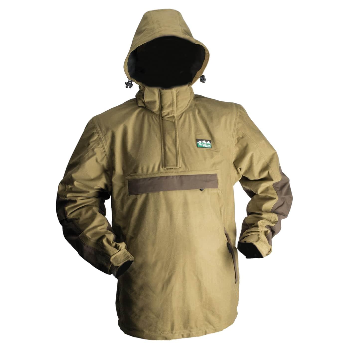Ridgeline Pintail Explorer Waterproof Smock Jacket - Teak