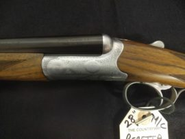 "Beretta 486 Parallelo 28 Bore Side by Side 28"" Straight Stock Shotgun"