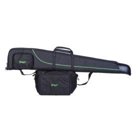 "Bonart Black & Lime Green Shotgun Gun Slip Case 30"" or 32"""