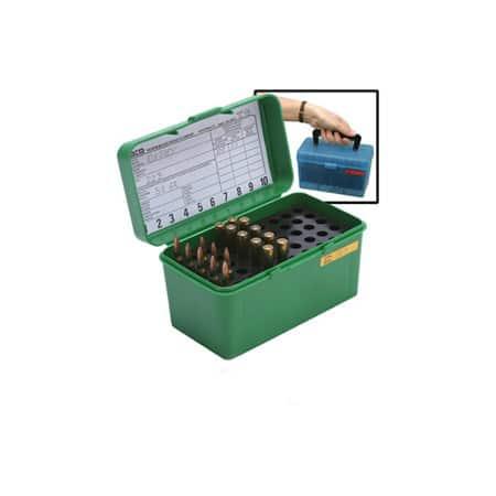 MTM Case Gard Deluxe 50 Round H50RM Ammo Box