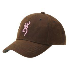 Browning Ladies Dura Wax Baseball Cap - Pink