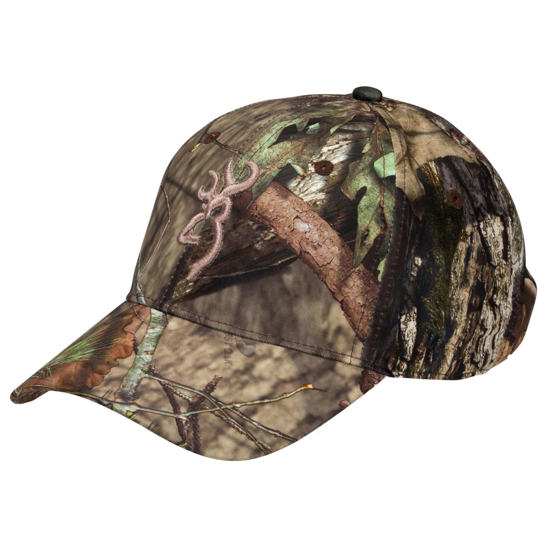 Cabelas Hats Caps: Browning Trail Lite Mobuc Mossy Oak Camo Baseball Cap