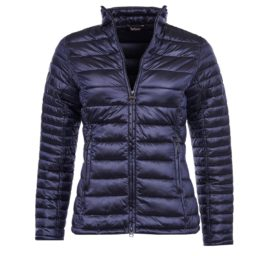 Barbour Clyde Short Baffle Quilted Ladies Jacket