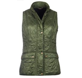 Barbour Ladies Wray Quile Gilet LQU0859GN71_02flat