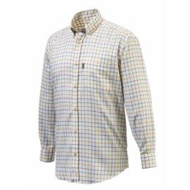 Beretta Country Check Verne Shirt - Yellow
