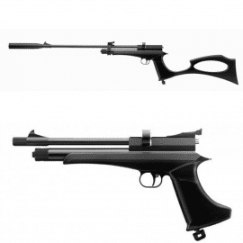 Victory CP2 Black Rifle & Pistol CO2 .177 or .22
