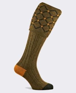 Pennine Regent Old Sage Shooting Socks