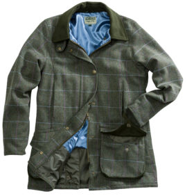 Hoggs of Fife Ladies Albany Tweed Shooting Coat