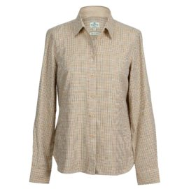 Hoggs of Fife Brook Ladies Country Cotton Shirt