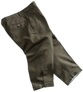 Hoggs of Fife Men's Harewood Lambswool Tweed Breeks