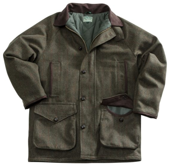 Hoggs of Fife Harewood Men's Lambswool Tweed Shooting Jacket