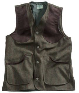 Hoggs of Fife Harewood Men's Tweed Shooting Vest