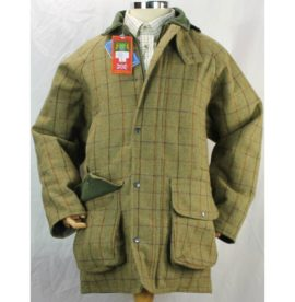 Hunter Outdoors Men's Tan Tweed Shooting Jacket