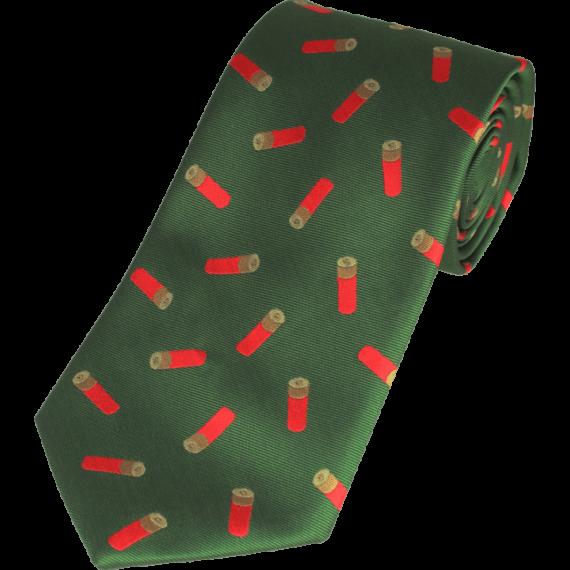 Jack Pyke Shotgun Cartridge Country Tie - Green