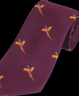 Jack Pyke Pheasant Country Tie - Wine