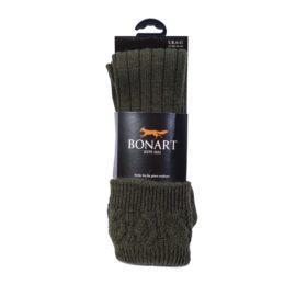 Bonart Padstow Shooting Socks - Olive