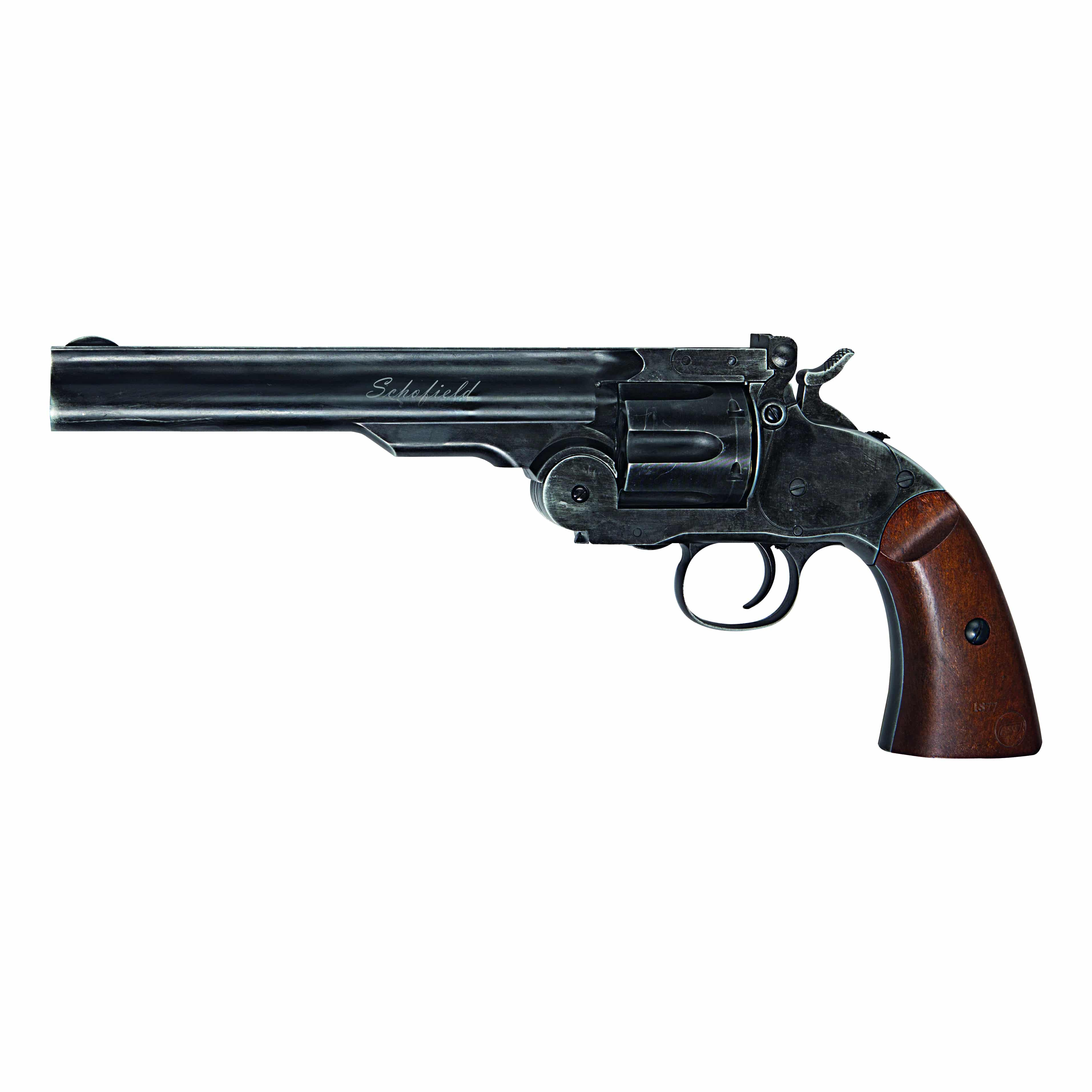 ASG Schofield  177 Pellet Black Aged Finish Co2 Air Pistol