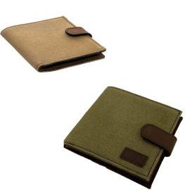Teales Huntsman Leather & Canvas Shotgun Firearms Certificate Wallet