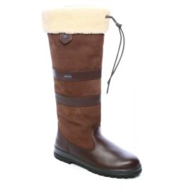 Dubarry Kilternan Ladies Leather Country Boots & FREE Tube of Leather Cream