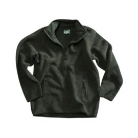Hoggs of Fife Milton Tufted Green Fleece Jacket