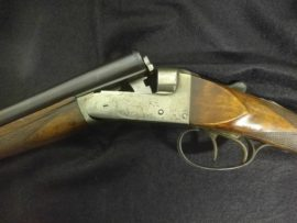 "Belgian 410 Side by Side Box Lock Shotgun 26"""