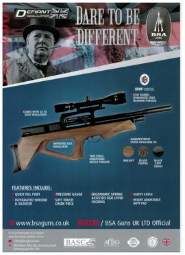 BSA Defiant Bullpup PCP .177 .22 Air Rifle