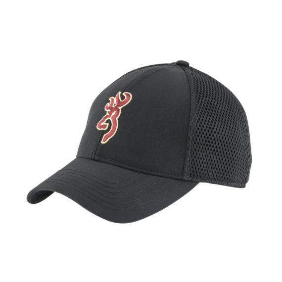 Browning Air Mesh Black Baseball Cap