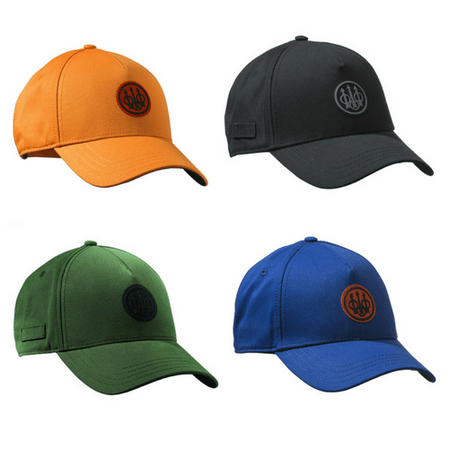 Beretta Rubber Patch Logo Baseball Shooting Cap