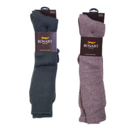 Bonart Dunoon Knee Length Socks - Olive / Granary