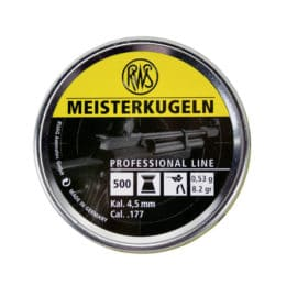 RWS Meisterkugeln 177 Air Rifle Pellets