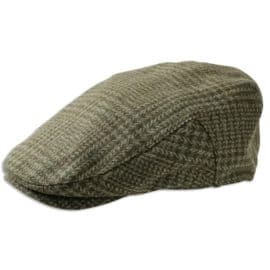 Hoggs of Fife Invergarry Tweed Flat Cap