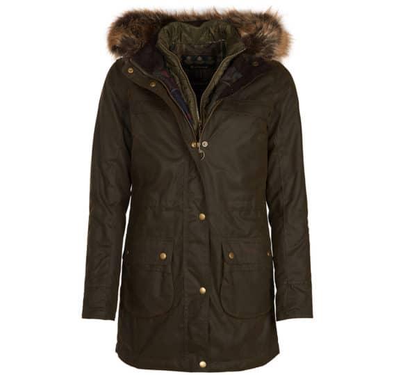 Barbour Dartford Ladies Wax Jacket