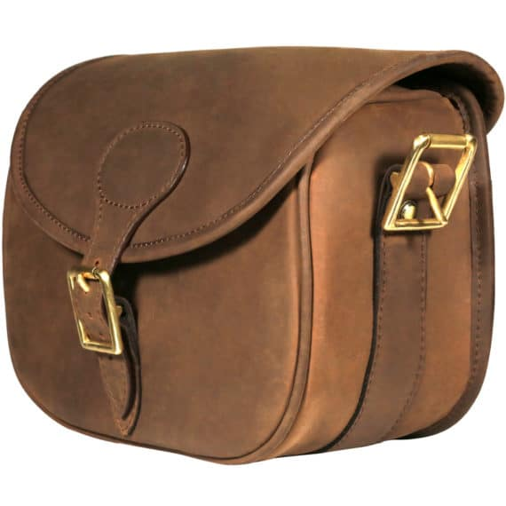 Teales Devonshire Leather Cartridge Bag
