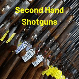 Second Hand Shotgun List