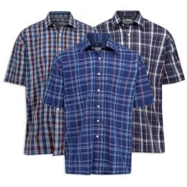 Champion Whitby Men's Short Sleeve Check Shirt