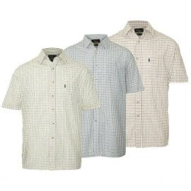 Champion Men's Short Sleeve Tattersall Shirt
