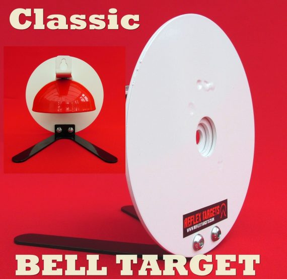 Reflex Targets Classic Air Rifle Bell Target