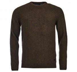 Men's Barbour Patch Crew Neck Sweater
