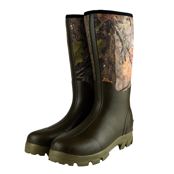 Jack Pyke Neoprene Wellingtons - Evolution Camouflage