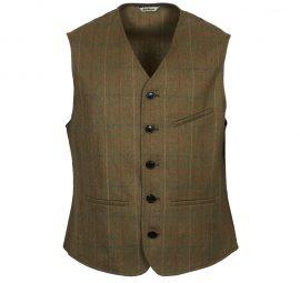 Barbour Moorhen Men's Tweed Waistcoat