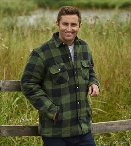 Men's Champion Kinross Padded Lumberjack Shirt