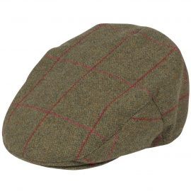 Alan Paine Combrook Men's Tweed Flat Cap