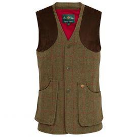 Alan Paine Combrook Men's Tweed Waistcoat