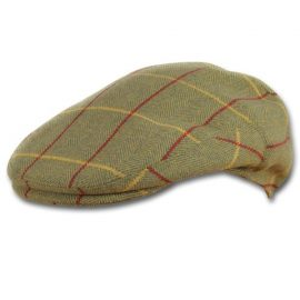 Jack Pyke Wool Blend Men's Tweed Flat Cap