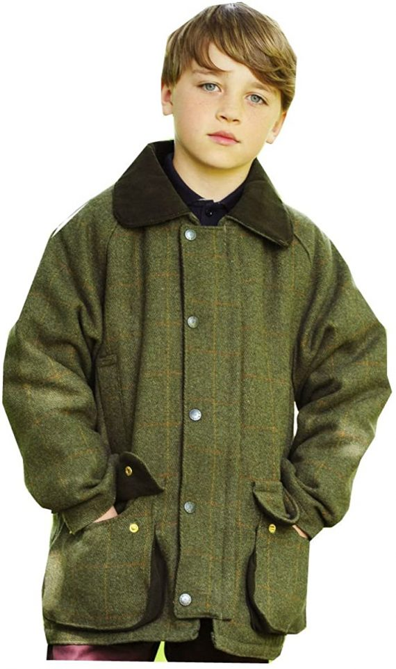 Bronte Junior Derby kids Tweed Jacket