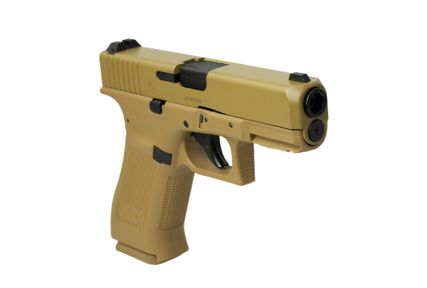 Glock 19 CO2 177 BB Air Pistol Tan